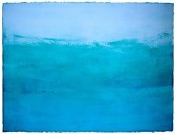 Farbansichten-blau2-2011-und-2015_Tempera-auf-handgeschoepftem-Papier_ca56.5x76cm